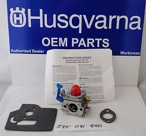 Husqvarna OEM  Carburetor W38 545081850 fits 125LDX 125L 128LD