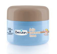 5 X 100ml ORIGINAL BECUTAN ALMOND BABY CREAM CARE DJECIJA DECIJA BADEMOVA KREMA