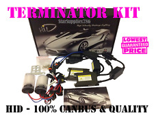 H7 CANBUS HID TERMINATOR KIT XENON CONVERSION 5000K AUDI BMW GOLF VAUXHALL FORD
