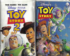 Disney Movies Toy Story & Toy Story 2 VHS Video Tapes Family Entertainment