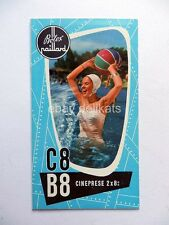 BOLEX PAILLARD cinepresa 8 16 mm vecchia brochure