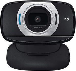 Logitech 1080p Webcam Full HD 30fps Mic, Zoom, Face Time etc. Black NEW C615