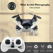 RC LEADING RC101W Mini RC Drone Quadcopter with Camera WIFI FPV RTF Mode 2