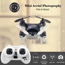 RC LEADING RC101W Mini RC Drone Quadcopter with Camera WIFI FPV RTF Mode 2