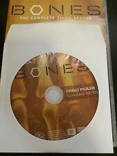Bones - Season 3, Disc 4 REPLACEMENT DISC (not full season)