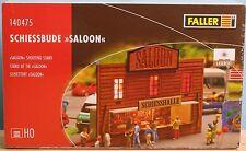 Faller 140475, Spur H0,  Lasercut - Bausatz Schiessbude Salon