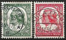 Germany (Third Reich) 1934 Used - 175th Birthday Friedrich von Schiller