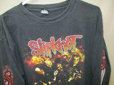 Men's Vintage (c)2003 Slipknot Long Sleeve AA Classic T-shirt L (L358)