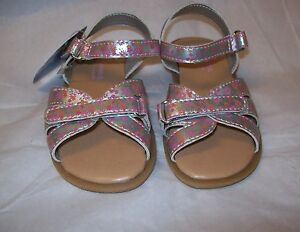 SONOMA life + style metallic FLORAL Sandals MSRP$32.99 MULTIPLE SIZES NEW IN BOX