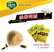 10pc Powder Cockroach Killing Bait Roach Killer Effective Miraculous Insecticide