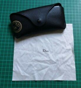 RayBan sunglass case & Dior cleaning cloth
