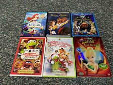 Snow White, Little Mermaid, Beauty & The Beast Muppets Disney Collector DVD Lot