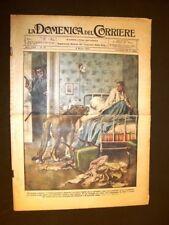 La Domenica del Corriere 6 marzo 1927 Chateaumeillant, Barzesto, Balbo De Pinedo