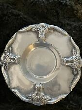 Texas Longhorn Stainless Round Dish Pillar Candle Holder Key Tray