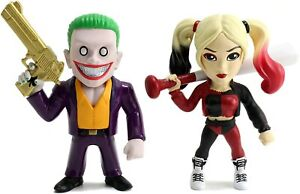 Suicide Squad 4 Inch Joker and Harley Quinn Figure 2 PACK 97571