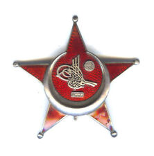 GALLIPOLI STAR OFFICERS GERMAN MADE STAR MARKED SILBER ON PIN, SLT CHIP (TURKEY)
