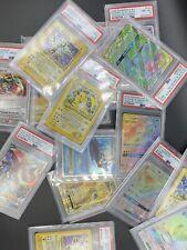 1X Mystery Psa Graded Pokemon Card. Wotc, Full Art,Gx,Promos,Holos,