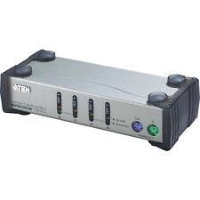 KVM Switch ATEN 4 Port CS84A PS/2