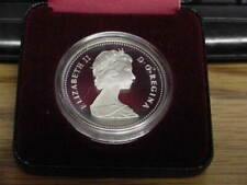 1984 Canada Canadian Toronto Silver Dollar With Case Nice Proof Cameo