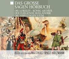 Audiolibro CD il grande dire Audiolibro 8cds la Loreley che Nibelungen saga, il Fli