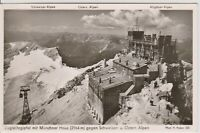GERMANY vintage Real Photo postcard Muncher Haus, Ostern Alpen, German Alps