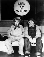 I Love Lucy With Ethel Lucille Ball and Vivian Vance Men At Work 8x10 Photo
