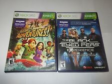 XBOX 360 Microsoft - Lot Of 2 Kinect Games -