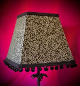 Khaki Animal Print Table Lampshade Wall Lights Bedside Lampshades Ceiling Lights