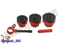 """RATCHET CONDUIT PIPE THREADER CAPACITY 1.1/4"""" TO 2""""COMPACT TOOLS FOR THREADING"""