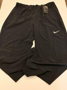 Nike Flex Essential Woven Black Sweatpants Jogger BV4833-010 Mens Size XL New