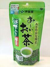"100g Japanese green tea leaves ""Oi Ocha"" ITOEN  Matcha blend Japan F/S"
