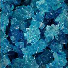 Blue raspberry Rock Candy crystals on Strings 5 lb