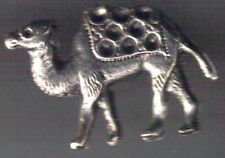 Camel silver colour 3D Pin