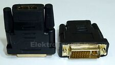 Conector HDMI a DVI i 24+5 Adaptador Conector embrague full 1080p HD TV ps3 ps4
