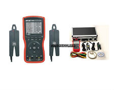 New Etcr4000a Intelligent Double Clamp Digital Phase Volt Ampere Meter 75mm