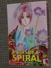 Pieces of a Spiral Manga #6 - Kaimu Tachibana CMX 2006 shojo fantasy