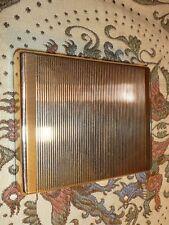 Zigarettenetui 108 Gramm Gold 585, Goldschmiedewerk, Patentverschluß ca 1920