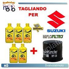 TAGLIANDO FILTRO OLIO + 5LT BARDAHL XTC 10W40 SUZUKI VS INTRUDER 1400 1999