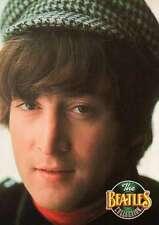 John Lennon With Cap, Terrific Photograph --- Beatles Trading Card