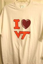 NEW  I LOVE  VIRGINIA TECH HOKIES T-SHIRT SIZE XL