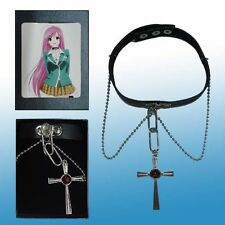 Cosplay Rosario + Vampire RosaVam Moka Akashiya Cross Necklace free shipping
