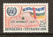 Central Africa # 17 Mnh National Holiday