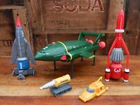 Thunderbirds Vehicle Set - Thunderbird 1 2 3 4 - Soundtech 2000 Retro