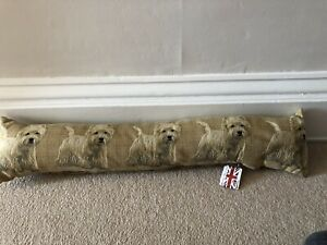 NEW Draught Excluder - Westie Dog - West Island Terrier - fabric
