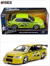 Fast & Furious BRIAN'S MITSUBISHI LANCER EVOLUTION VII Die Cast 1/24 Jada Toys