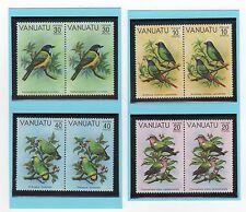 VANUATU 8 timbres neufs 1981 série oiseaux /T346