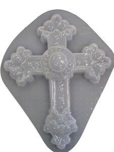 Huge Decorative Cross Plaster or Concrete Mold 7000 - Moldcreations