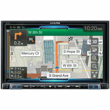 ALPINE Double DIN Restyle Android/Apple In-Dash TouchScreen Car Stereo | X208U