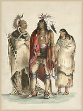 George Catlin's Indian Gallery: North American Indians - Fine Art Print