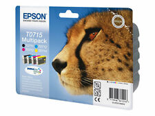 Epson Original T0715 Multipack Ink Cartridges T0711 T0712 T0713 T0714